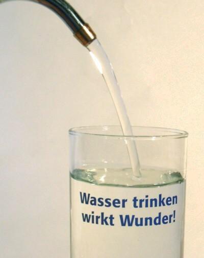Seewasser trinken